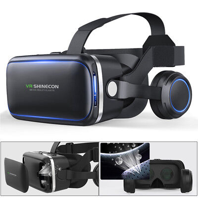 Virtual Reality 3D VR Headset Glasses 360° Panoramic for iPhone Android Samsung