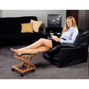Adjustable Foot Stool Ebay