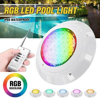 35W 360LED RGB Underwater Swimming Pool Light Pond Lamp Waterproof w/ Remote