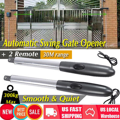 24V Electric Automatic Dual Arm Swing Gate Opener Hardware Driveway Door (Automatic Swing Door Opener)