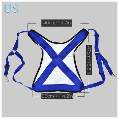 Adjustable Fishing Rod Bracket Vest Belt Practical Shoulder Harness Tackle Strap