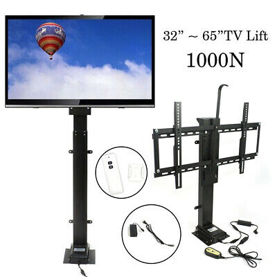 "Motorized TV Lift Mount Bracket for 32""-65"" LCD Flat TV W/ Remote Controller for sale  USA"