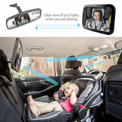Baby Car Seat Rear View Mirror Facing Back Infant Kids Child