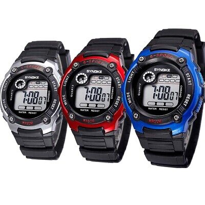 Kids Watches Sport Waterproof Watches Digital LED Wristwatches Best Gift US