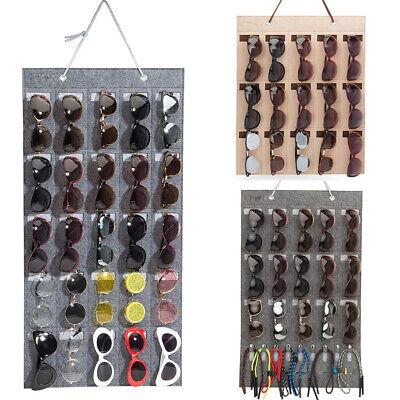 Eyeglass Sunglasses Storage Display Stand Organizer for 15 Glasses for wall (Sunglass Stand)