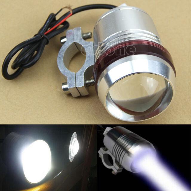 Waterproof Motorcycle  Working Lamp 12V 30W U2 LED Fog Spot Head Light