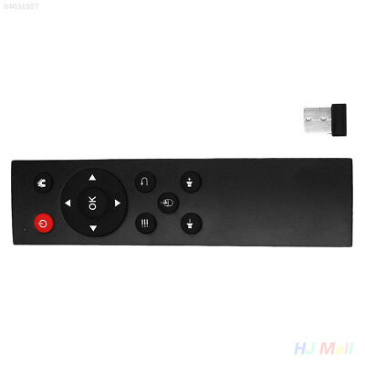 6CE7 USB2.0 2.4G Wireless Remote Control Android TV Box for PC TV Black 9D64