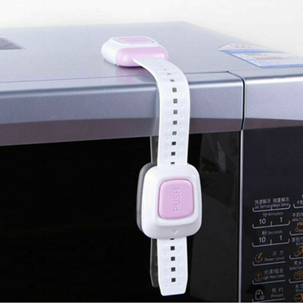 Child Safety Lock Flexible Adjustable ABS Indoor Drawer Cabinet Fridge Multi use Baby