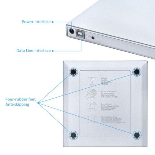 2020 dvd drive USB External CD-RW Recorder DVD/CD Reader Player Optical Drive