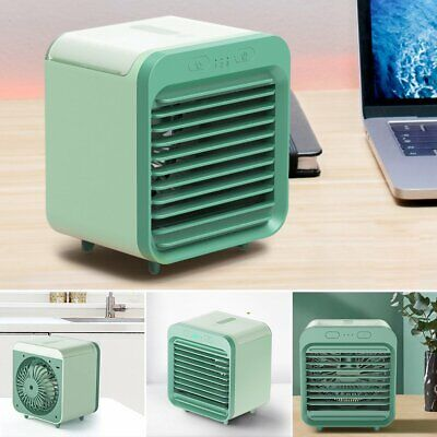 200ML USB Portable Mini Air Conditioner Cooling For Auto Car Bedroom Cooler Fan#