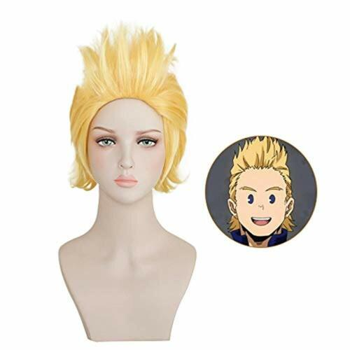My Boku no Hero Academia Million Mirio Togata Cosplay Hair Wig with free Wig CAP