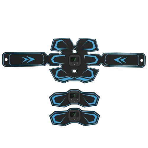 USB Wiederaufladbarer EMS Bauchgürtel Bauchmuskeltrainer EMS Massagegerät♠
