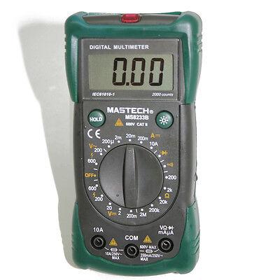 Mastech Ms8233b 19-range Multimeter Backlight Diode Ac Tester