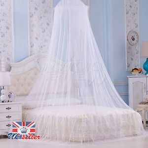 White Mosquito Net Fly Insect Protection Bed outdoor Canopy Netting Curtain Dome
