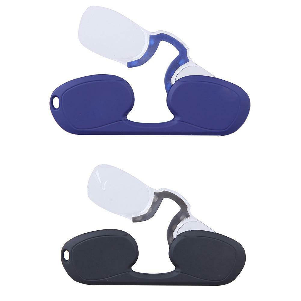 Mini Nasenclip Lesebrille Optik Presbyopie Armlos Ultraleicht Tragbar