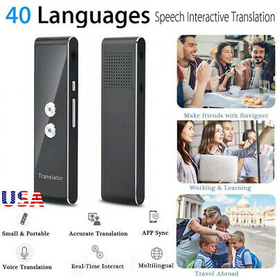 Translaty MUAMA Enence Smart Instant Real Time Voice 40 Languages Translator USA
