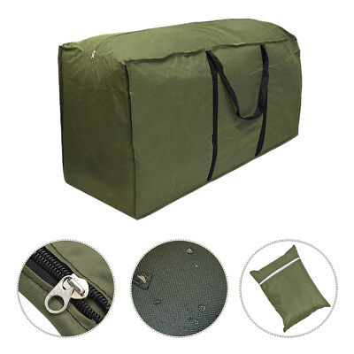 New Outdoor Cushion Storage Bag Patio Furniture Chaise Chair Organizer Protector ()