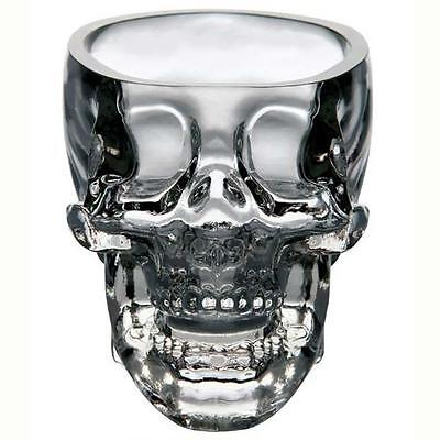 Crystal Vodka Whiskey Shot Skull 73Ml Head Glass Cup Drinking Ware Home Bar 9T