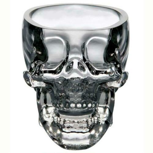 Crystal Vodka Whiskey Shot Skull 73ml Head Glass Cup Drinking Ware Home Bar UP