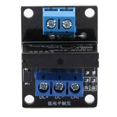 Dc 5v12v 1 Channel Solid State Relay Module Board High Low Level Trigger 2a