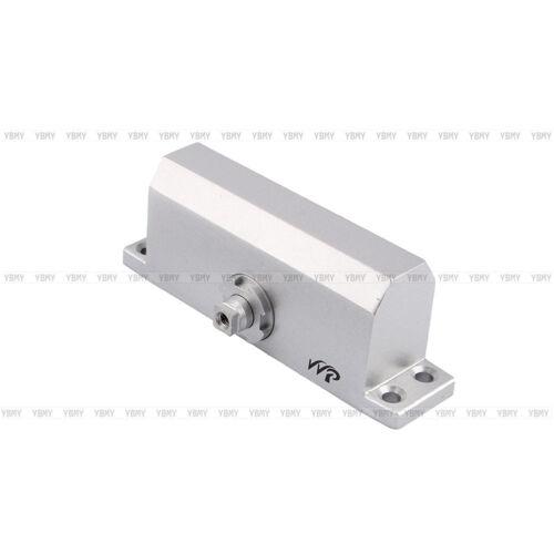 Fire Door Closers : Adjustable automatic fire rated overhead silver door