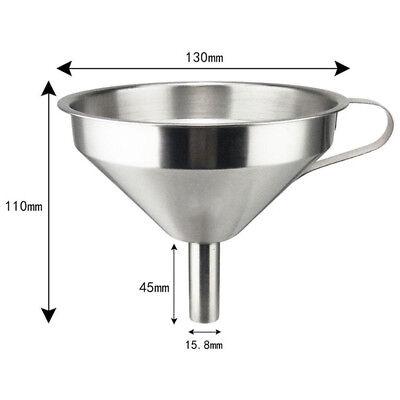 Edelstahl Canning Trichter (1 X Küche Breite Öffnung Canning Trichter Trichter Filter Glas Kochen Edelstahl)
