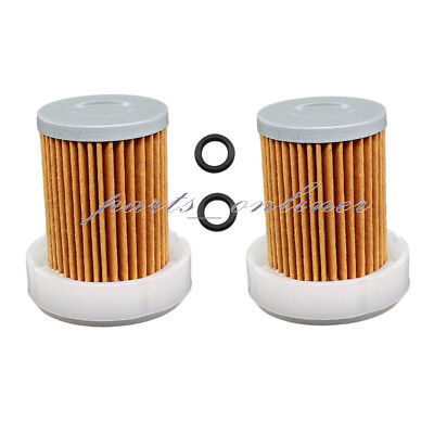 2x Fuel Filter with O-Rings for Kubota  L2501 L2800 L3200 L3400