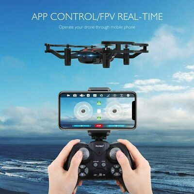A21 Drone Mini Quadcopter Drone Camera Live Video w/ 720P HD FPV Wi-Fi - AKASO