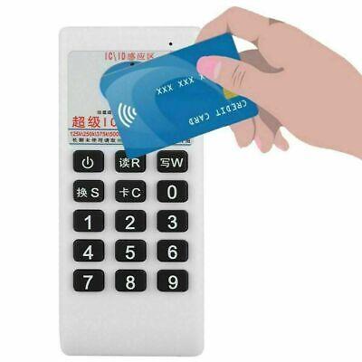 Handheld Rfid Icid Card Reader Writer Copier Duplicator 125khz 13.56mhz Us Ship