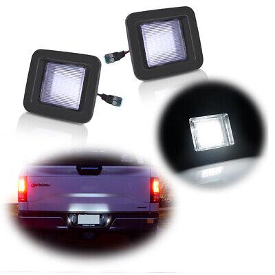 3W White LED License Plate Light Kit For 2015-up Ford F-150