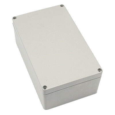 Gray-white Waterproof Plastic Project Box Enclosure 20012075mm Ed