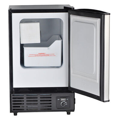 Smad Built-in Commercial Ice Machine Restaurant Undercounter Ice Maker Fridge