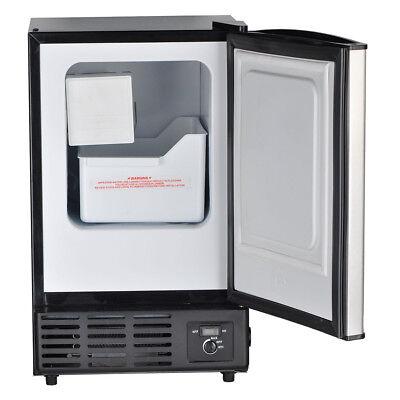 Smad Built-in Commercial Ice Machine Restaurant Undercounter Ice Maker Fridge