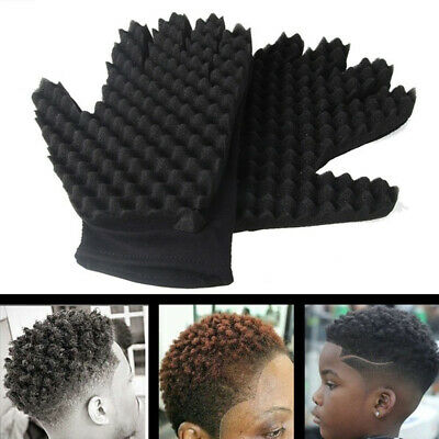 1Pc Curly Hair Sponge Glove Wave Twist Brush Barbers Styling Hairdressing Tool Hair Care & Styling