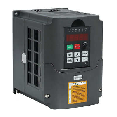 3hp 10a 2.2kw 220v Vfd Variable Frequency Drive Inverter