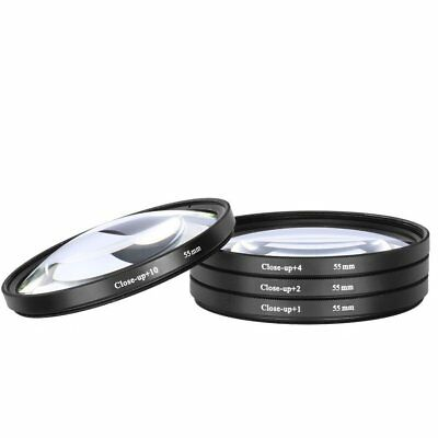 Macro Close up Lenses Lens Filters for Nikon D5600 D3400 for 18-55mm Lens