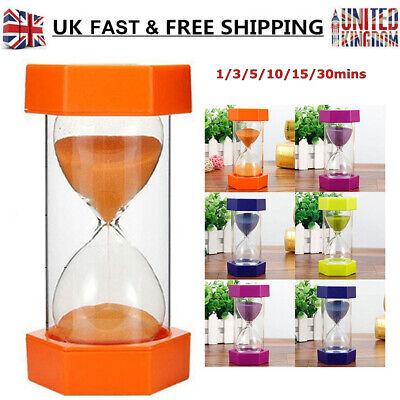 NEWLY 1PC Sandglass Sand Egg Hourglass Timer SEN ADHD ASD 1/3/5/10/15/30 Minutes