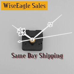 Silent Wall Clock Quartz Mechanism (WHITE FANCY  Hands) DIY Model 668