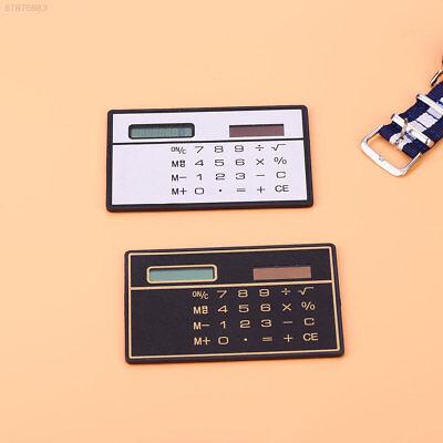 Dad0 Wallet Portable Mini 8 Bits Calculator Super Thin Ultrathin Solar Panel