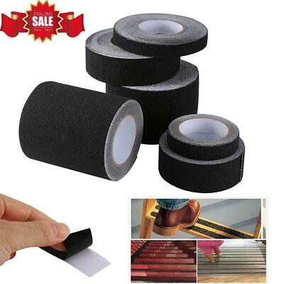 Anti Slip Non Skid High Traction Safety Grit Grip Tape Strips Adhesive Sticker ()