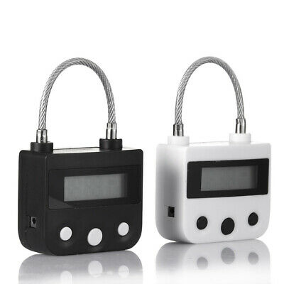 Time Lock Usb Rechargeable Timer Switch Padlock For Ankle Case Box Mouth Gag