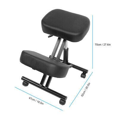 Ergonomic Rolling Kneeling Posture Correction Knee Stool Chair Office Adjustable