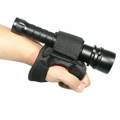 Unterwasser-Tauchlampe Taschenlampenhalter Soft Arm Mount Wrist Strap Glove DE Taschenlampe Mount