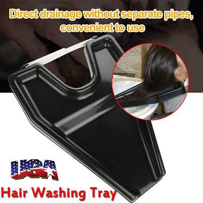 Hair Washing Tray (Hair Medical Rinse Washing Tray Shampoo Salon Bowl Beauty Portable Sink Neck NEW )