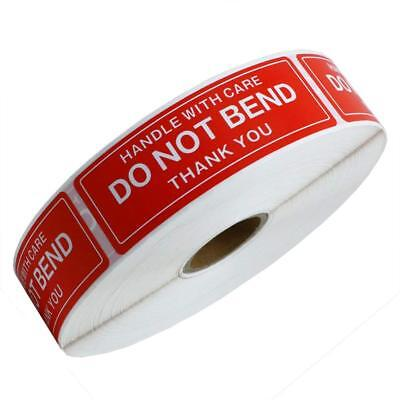 1 X 3 Do Not Bend Handle With Care Stickers Labels 1000 Per Roll 1654 Rolls