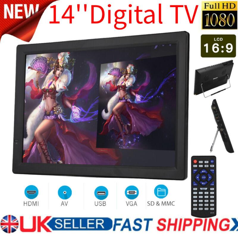 Freeview+1080P+HDMI+HD+14%27%27+Portable+TV+Digital+Television+Player+PVR%2FUSB+DC12V