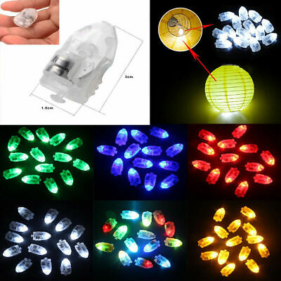 50Pc Waterproof LED Light for Paper Lantern Ballon Wedding Party Xmas Decoration - Led Light For Balloons