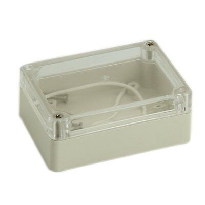 85x58x33mm Waterproof Cover Plastic Electric Cable Project Box Enclosure Case Ad