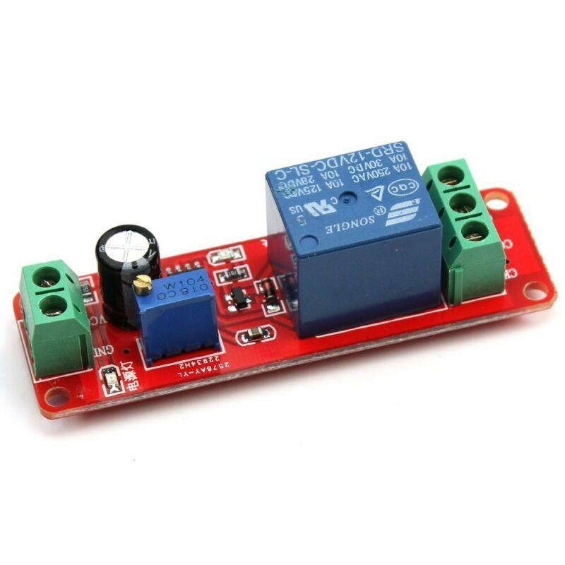 NE555 DC 12V Delay Relay shield Timer Switch Adjustable Module 0 To 10 Second