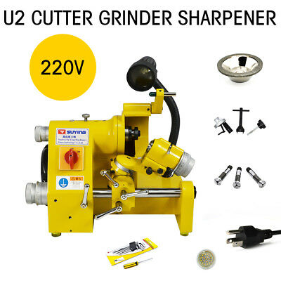 U2 Universal Tool Cutter Grinder Sharpener Machine Negative Angle Carbide Cutter